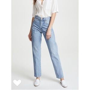 GOLDSIGN Rigid DenimStraight Cut Mom Jeans Sz 29
